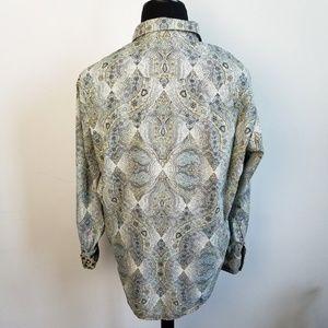 "Robert Graham Shirts - Robert Graham ""Hastings"" Green Rare Button Down"